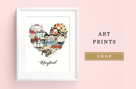 Anchor Point Paper Co. Art Prints