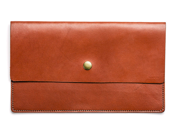 Todder Leather Pouch in Chestnut