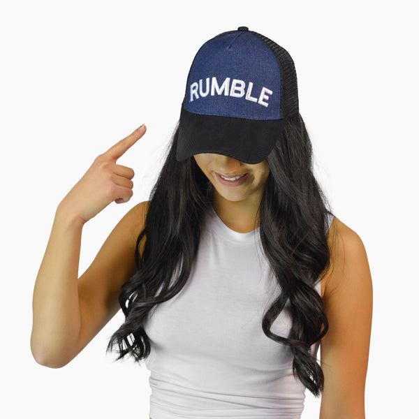 RUMBLE Denim Ball Cap