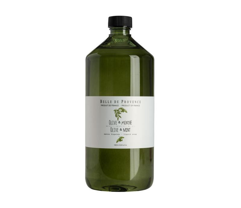 SOAP - LIQUID SOAP 1L REFILL - OLIVE & MINT