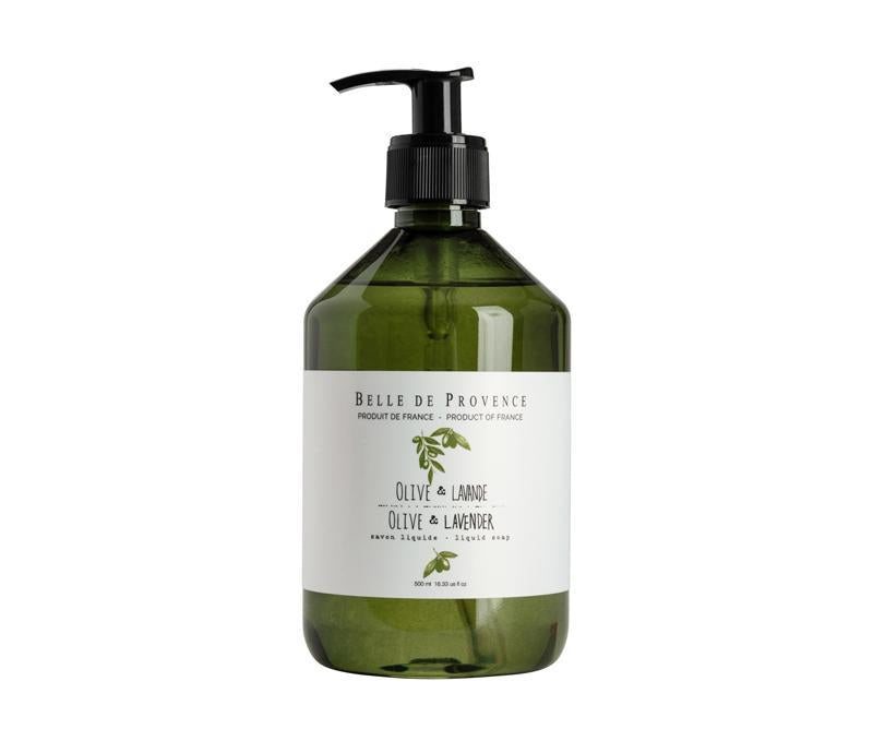 SOAP - 500ML LIQUID SOAP - OLIVE & LAVENDER