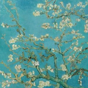 NAPKINS - LUNCH - ALMOND BLOSSOM, VINCENT VAN GOGH