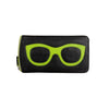 EYEGLASS CASE - BLACK/GREEN
