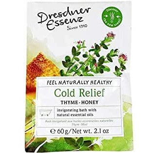 BATH ESSENCE - COLD RELIEF - THYME & HONEY
