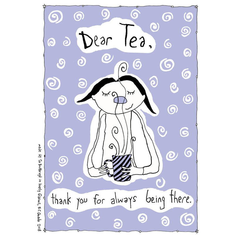 TEA TOWEL - DEAR TEA