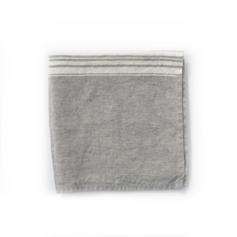 HAND TOWEL - LINEN, GREY