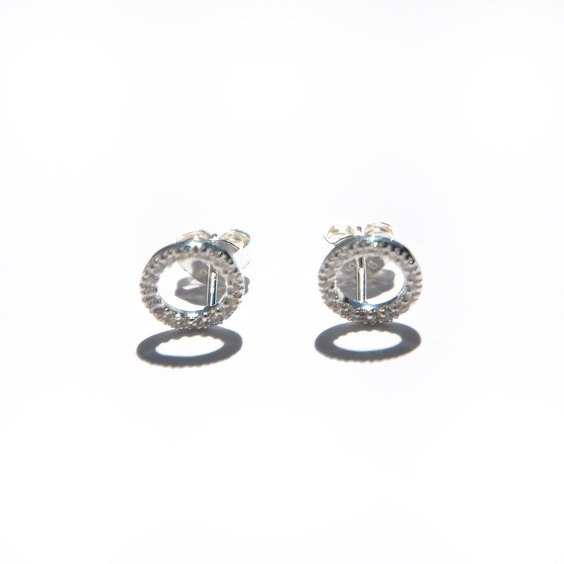 EARRINGS - TASHI STERLING SILVER