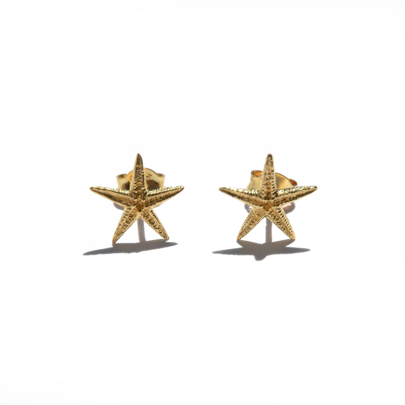 EARRINGS - TASHI 14 KARAT GOLD VERMEIL - STARFISH