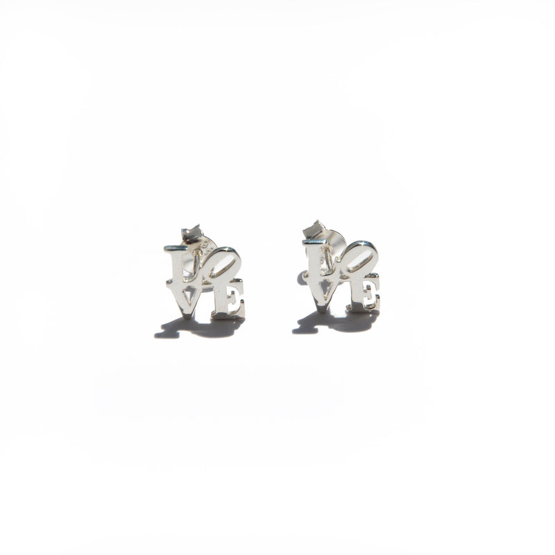 EARRINGS - TASHI STERLING SILVER - LOVE