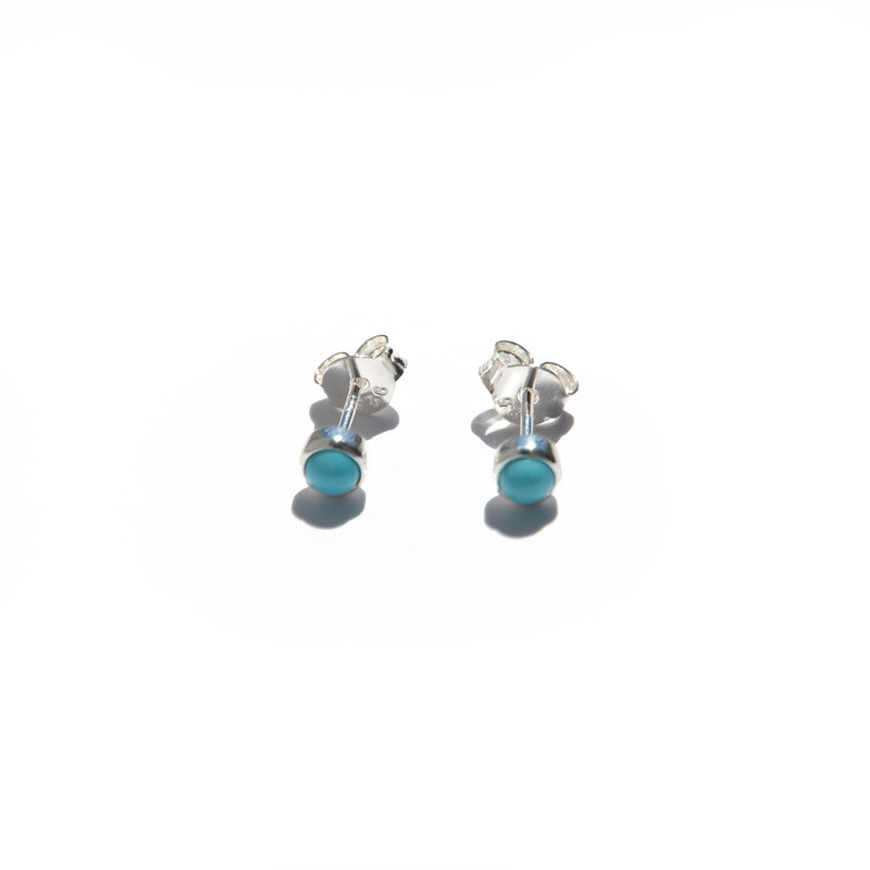 EARRINGS - TASHI STERLING SILVER - TURQUOISE