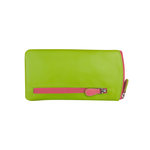 EYEGLASS CASE - GREEN/PINK