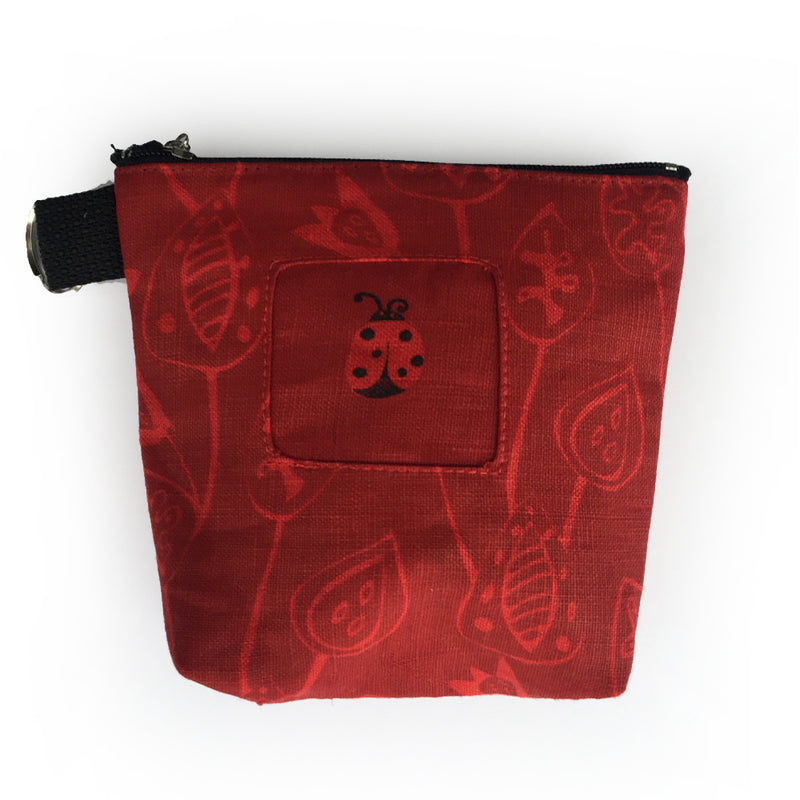 MAKE UP POUCH - LADY BUG
