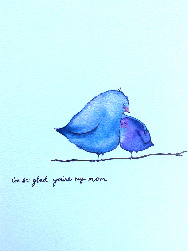 CARD - MOTHERS DAY - I'M SO GLAD