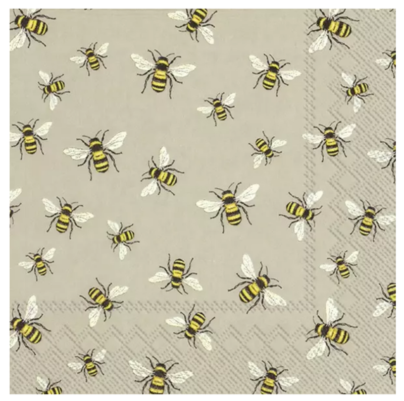 NAPKINS - LUNCH - LOVELY BEES