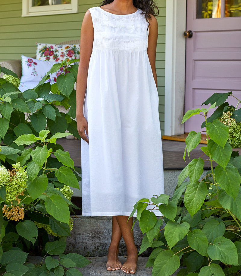 NIGHTGOWN - PENNY PLEATED