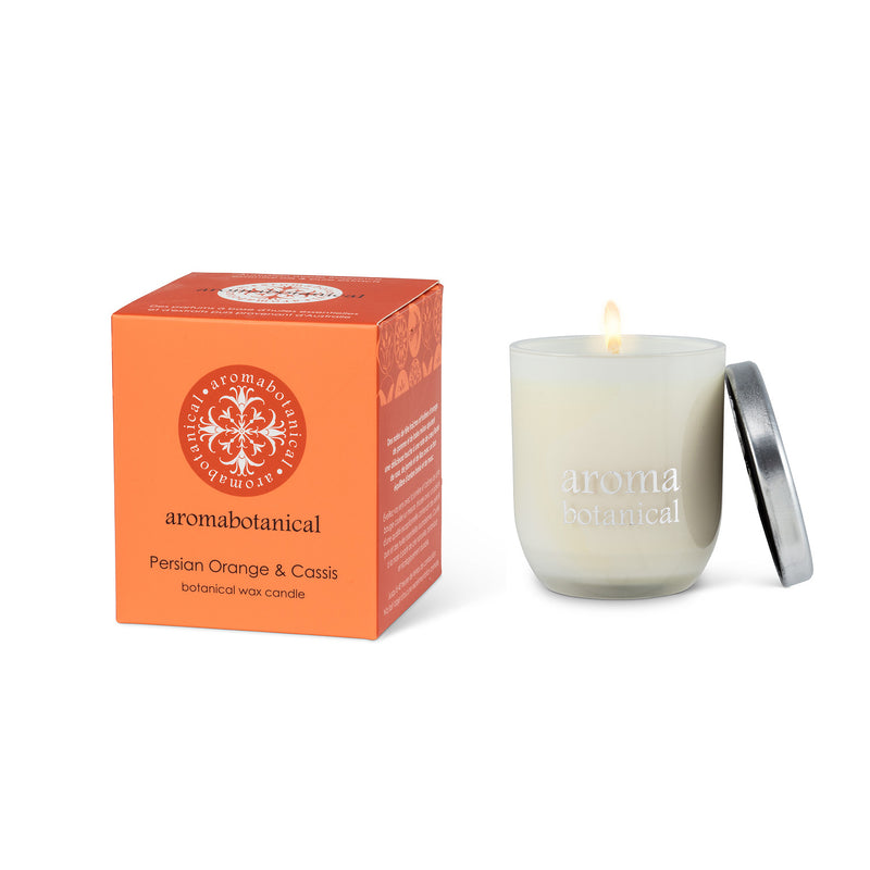 CANDLE - PERSIAN ORANGE & CASSIS
