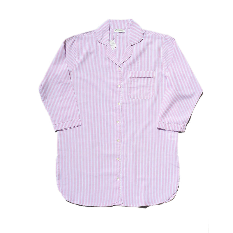NIGHSHIRT - PINK STRIPE