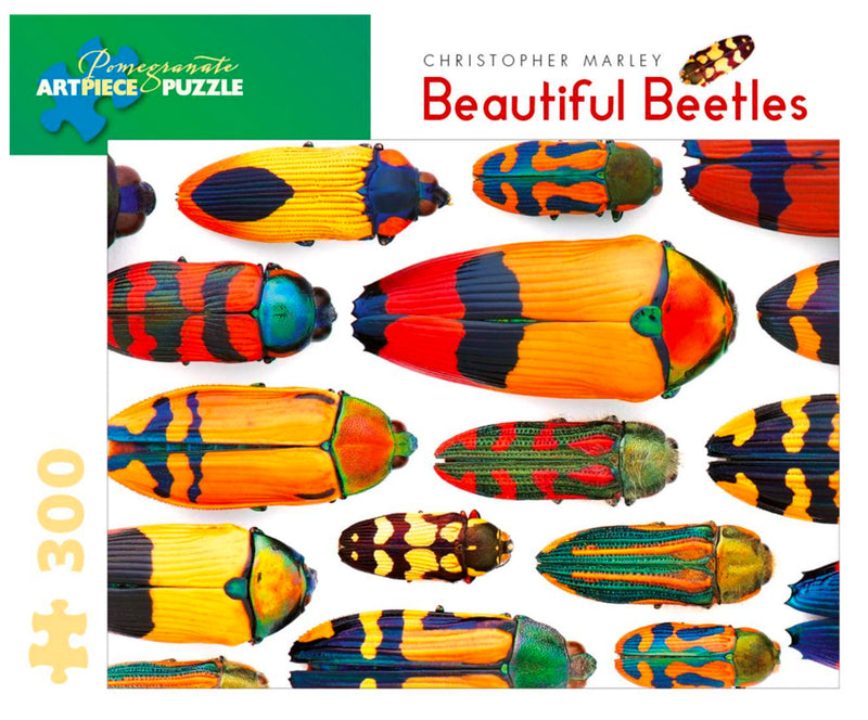 PUZZLE - 300 PIECE - BEAUTIFUL BEETLES