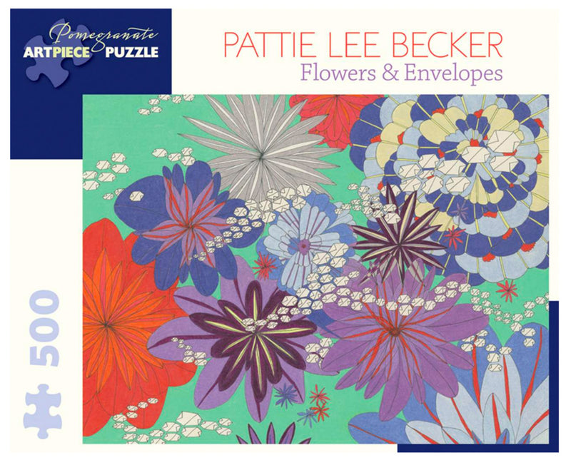 PUZZLE - 500 PIECE - FLOWERS AND ENVELOPES