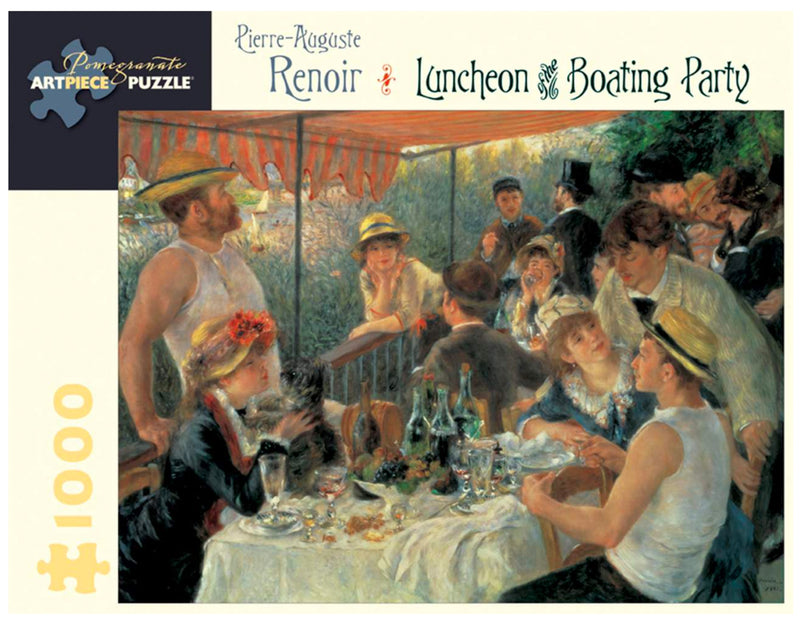 PUZZLE - 1000 PIECE - RENOIR : LUNCHEON BOATING PARTY