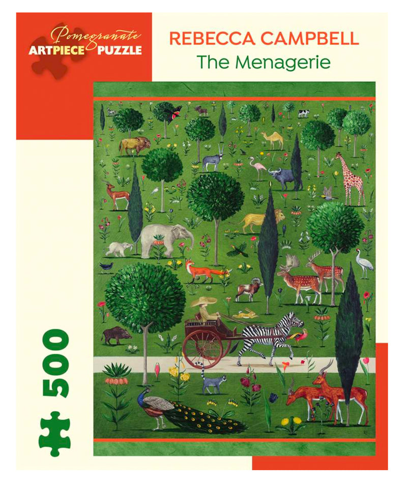 PUZZLE - 500 PIECE - THE MENAGERIE