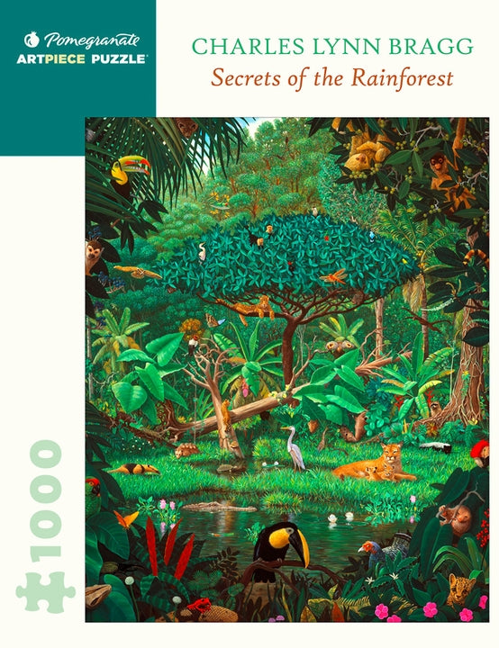 PUZZLE - 1000 PIECE - SECRETS OF THE RAINFOREST