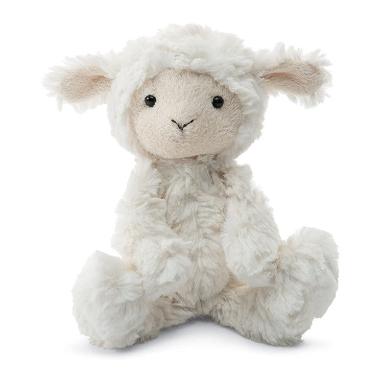 PLUSH - SMALL SQUIGGLE LAMB 7""