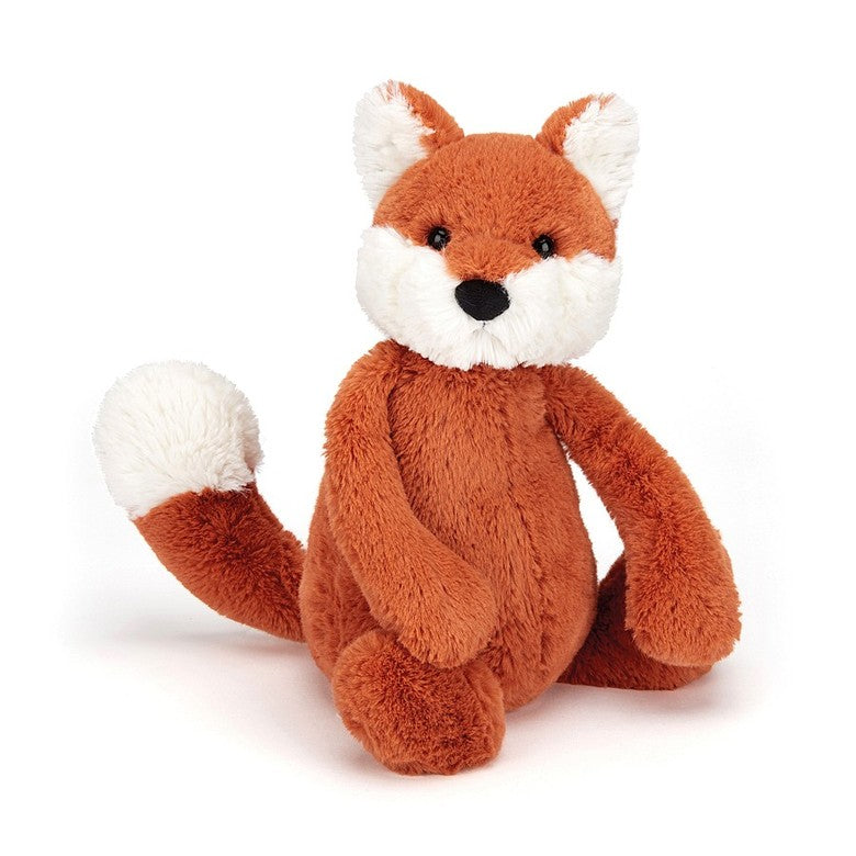 PLUSH - SMALL BASHFUL FOX CUB 7""