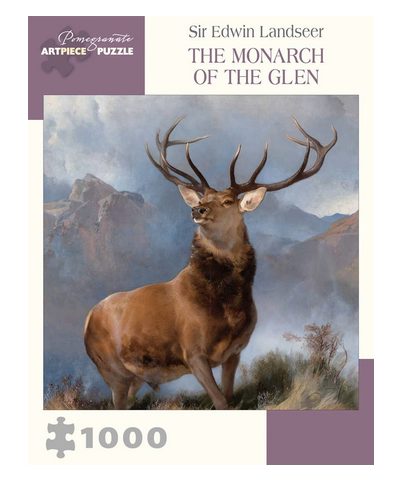 PUZZLE - 1000 PIECE - MONARCH OF THE GLEN