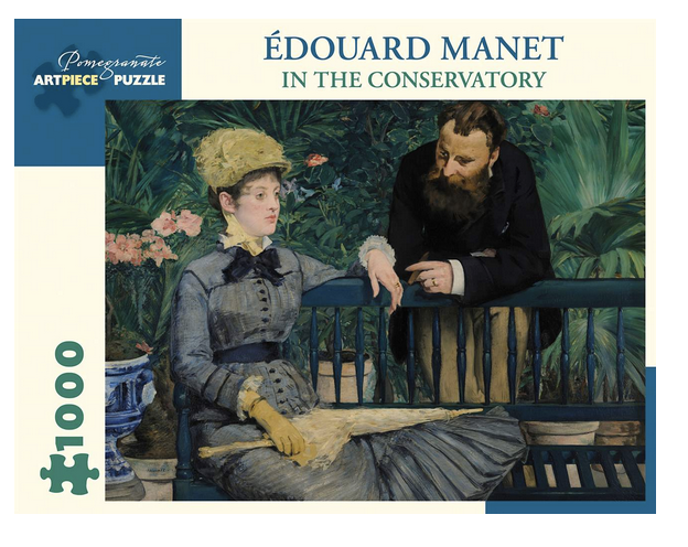 PUZZLE - 1000 PIECE - MANET IN THE CONSERVATORY