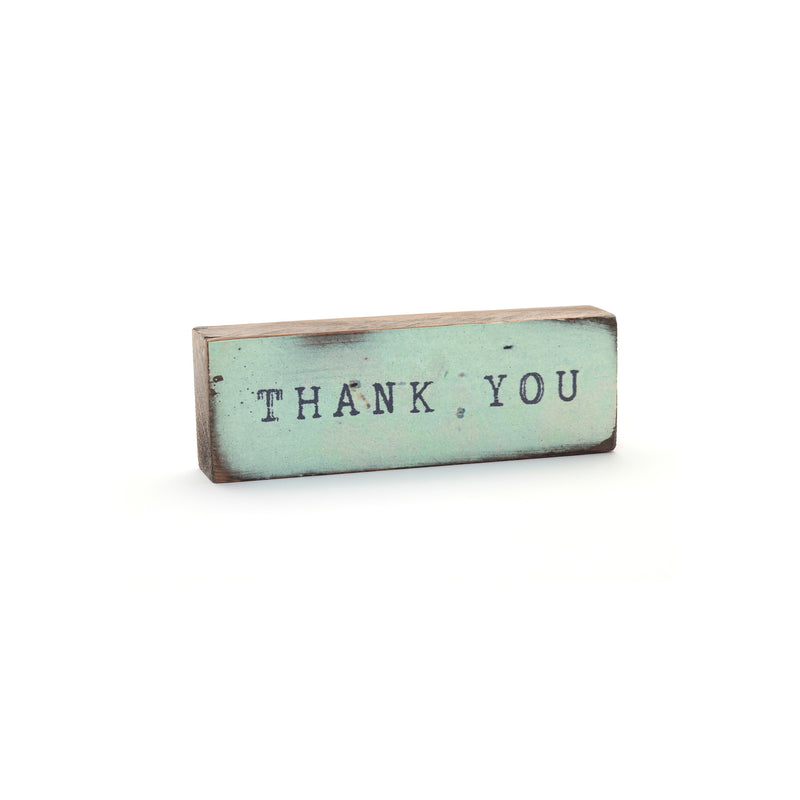 TIMBER BIT - THANK YOU (SMALL) - BLUE