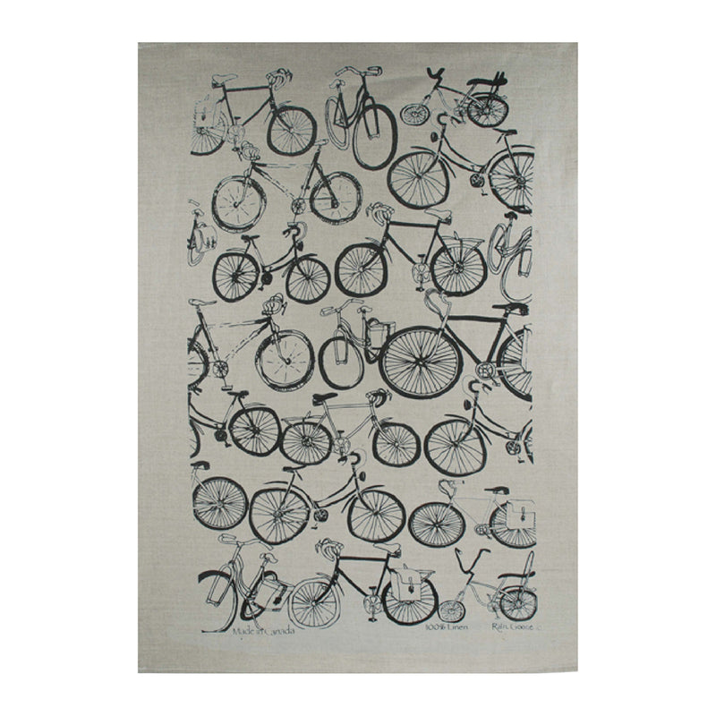 TEA TOWEL - BIKE OAT