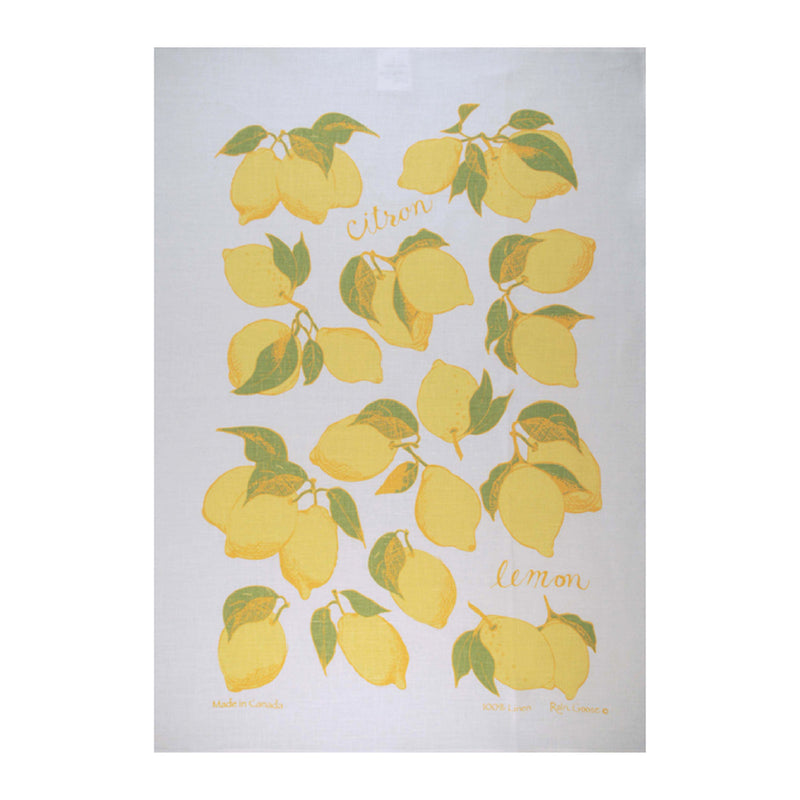 TEA TOWEL - LEMON