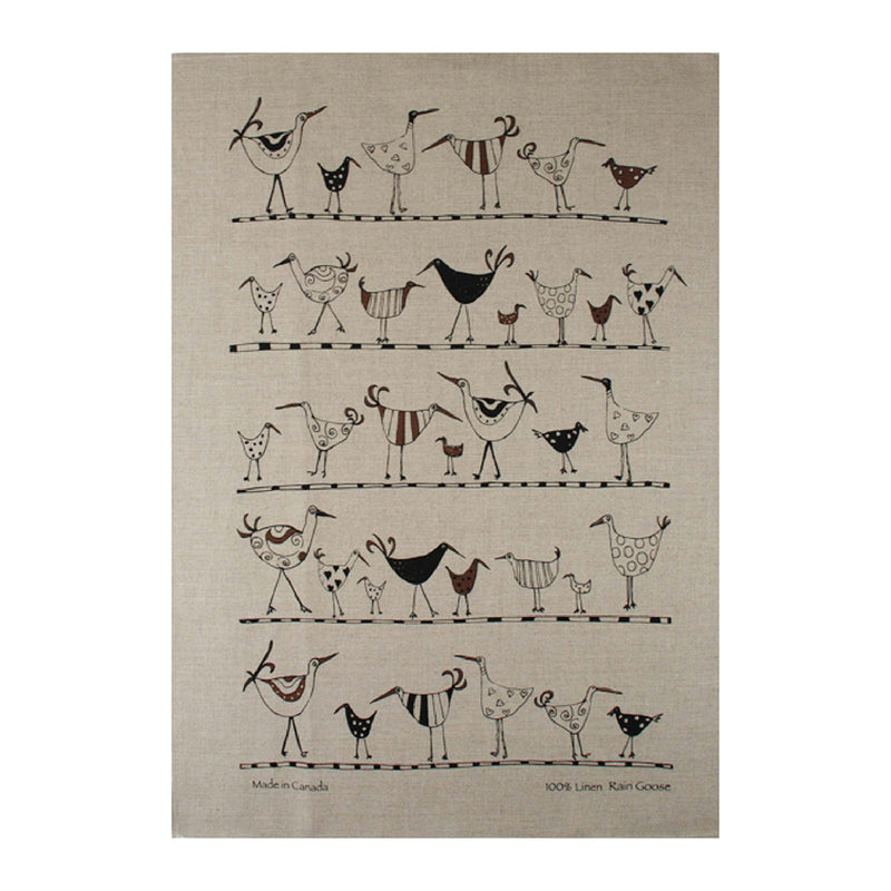 TEA TOWEL - OYSTER CATCHER