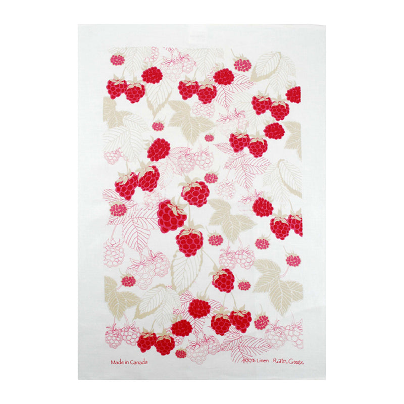 RASPBERRY TEA TOWEL