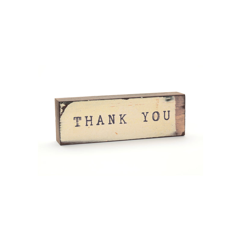 TIMBER BIT - THANK YOU (SMALL) - CREAM