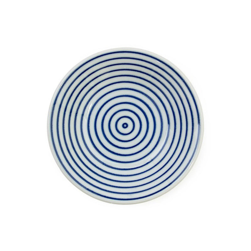 "CERAMICS - WAMON BLUE 4"" SAUCE DISH"