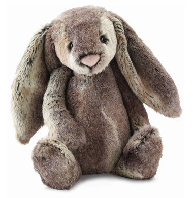 PLUSH - MEDIUM WOODLAND BASHFUL BUNNY 12""