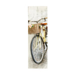 TIMBER WALL ART - YELLOW BIKE (SMALL)