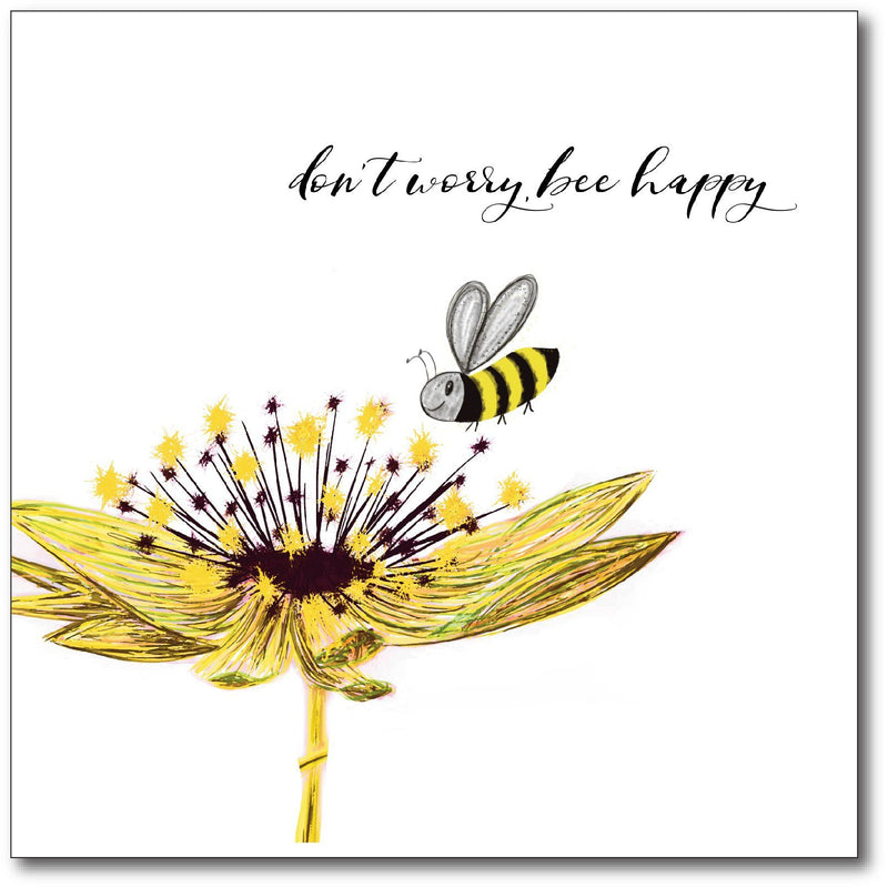 CARD - BEE HAPPY