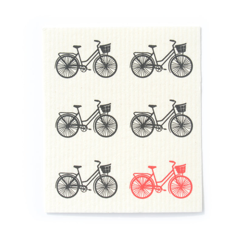 CLEANING CLOTHS - SWEDISH DISHCLOTH - BICYCLE
