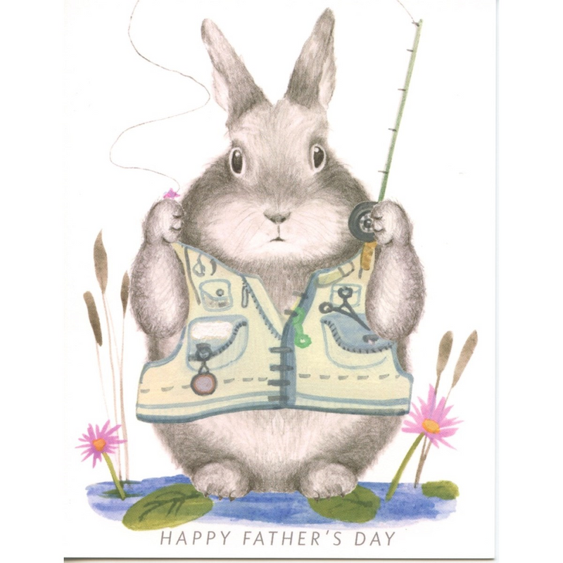 CARD - FATHER'S DAY - FISHING