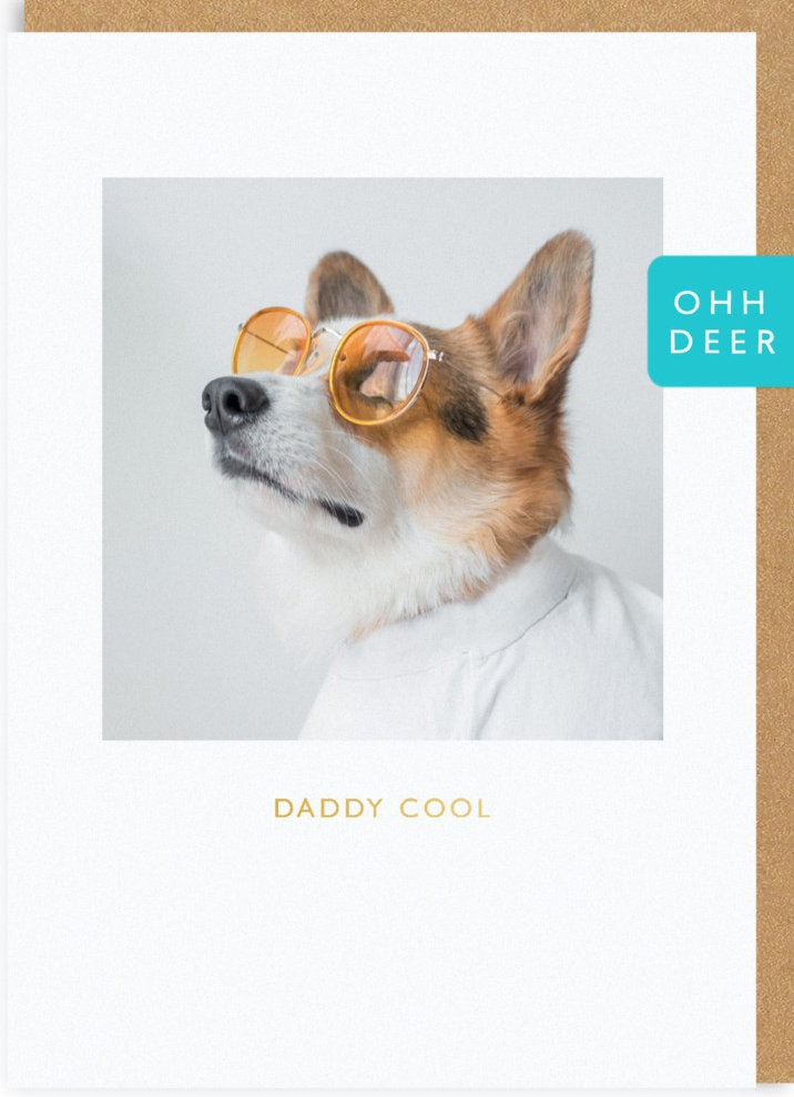 CARD - FATHER'S DAY - DADDY COOL