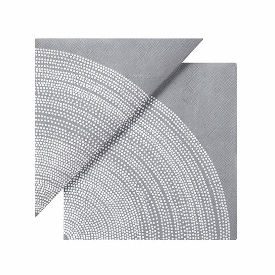 NAPKINS - LUNCH - GREY