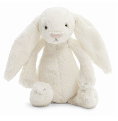 PLUSH - SMALL CREAM BASHFUL BUNNY 7""