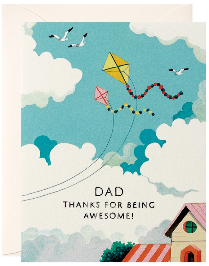 CARD - FATHER'S DAY - KITES