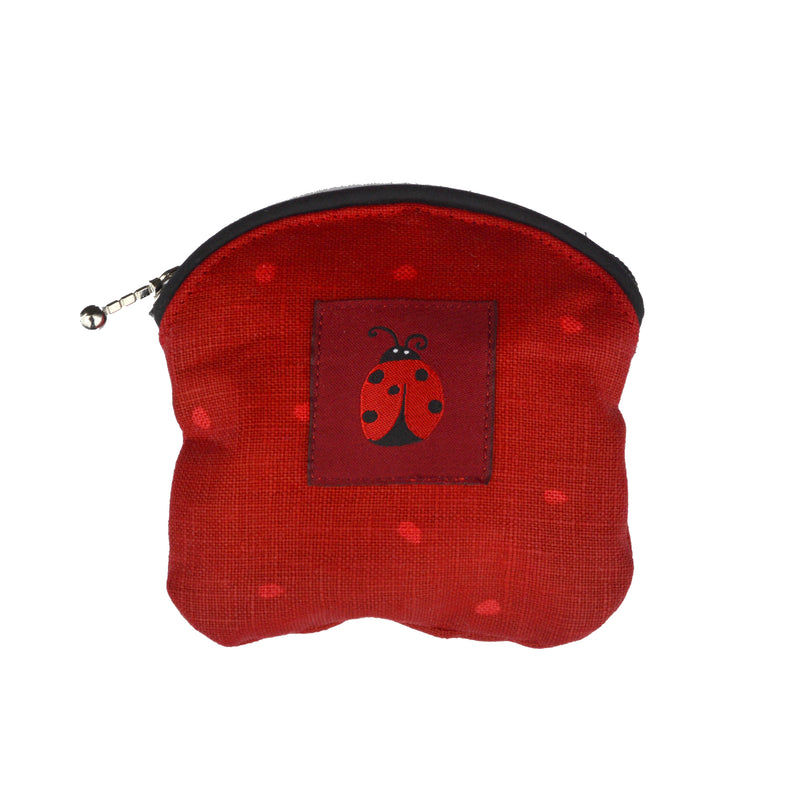 COIN PURSE - LADYBUG RED