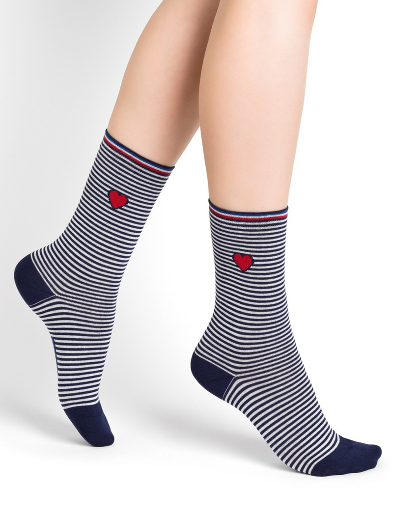 SOCKS - BLEUFORÊT COTTON - SAILOR