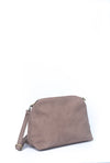 PURSE - OVER SHOULDER TOTE - MAUVE
