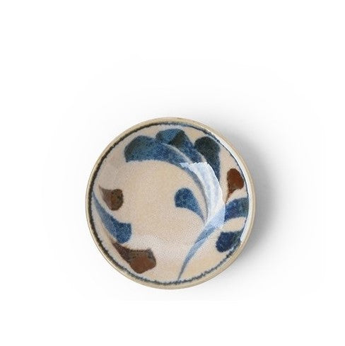 "CERAMICS - BLUE VINES 3.5"" SAUCE DISH"